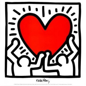 Keith Haring: cuore